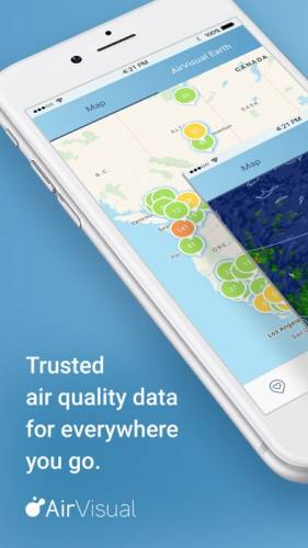 AirVisual Air Quality Forecast 0